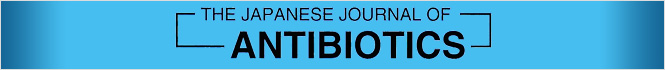 THE JAPANESE JOURNAL OF ANTIBIOTICS